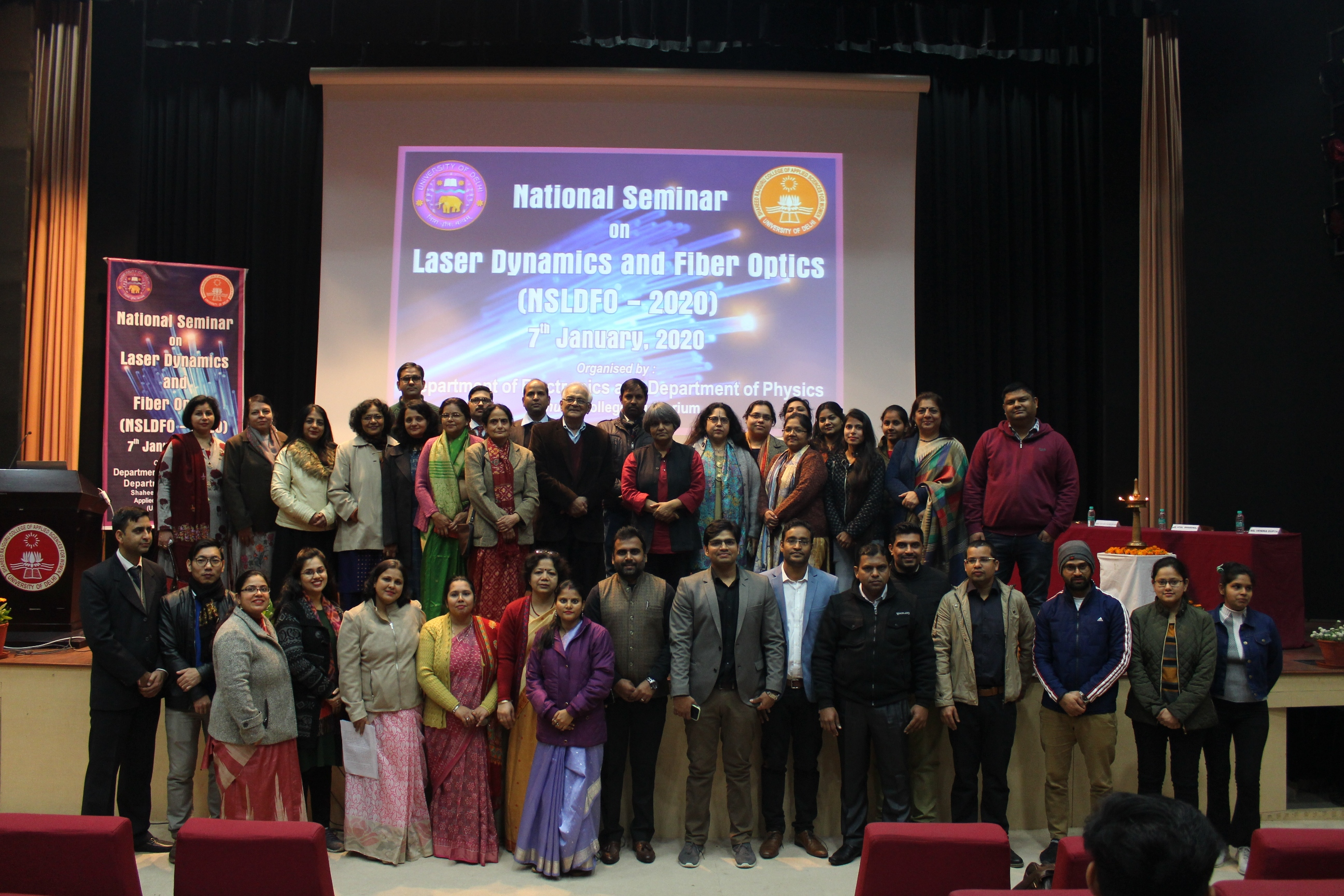 National Seminar on Laser Dynamics and  Fiber optics